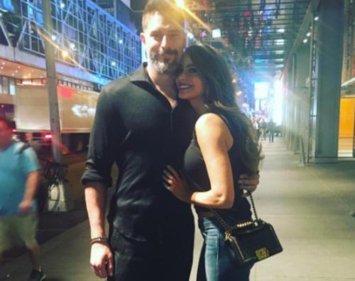 Sofia Sofia Vergara e Joe Manganiello foto di coppia sui social
