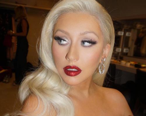 christina aguilera Christina Aguilera, foto hot nella vasca da bagno