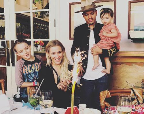 Ashlee Simpson Evan Ross festeggia i 32 anni di Ashlee Simpson