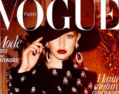 Gigi Hadid Gigi Hadid sulla cover di Vogue Paris