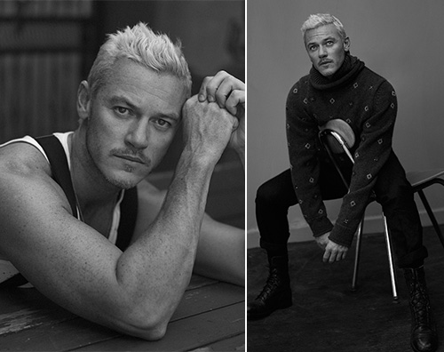 Luke Evans 2 Luke Evans hot su Interview Magazine