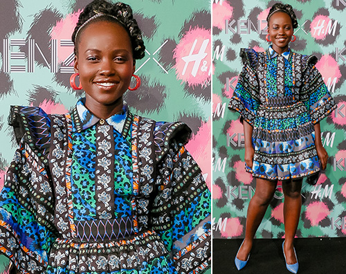 Lupita Nyongo Lupita Nyong'o a New York per HM