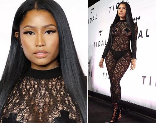 Nicki Minaj 2 Nicki Minaj hot per il TIDAL X: 1015
