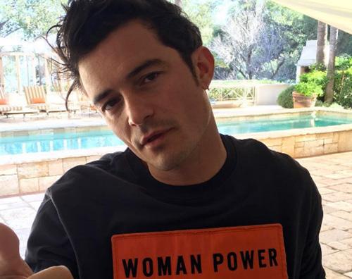 """Orlando Bloom Indovina l' attore """"camuffato"""" su Instagram"""