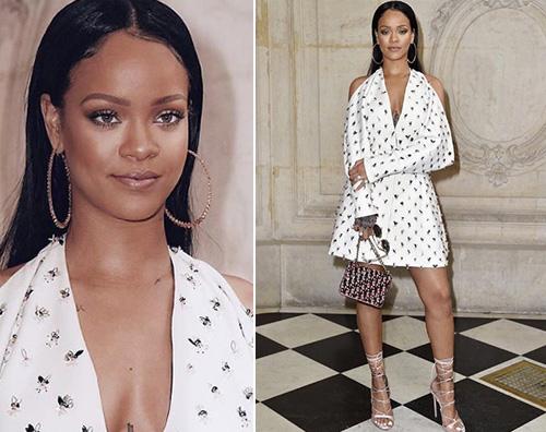 Rihanna 1 Rihanna a Parigi per Dior