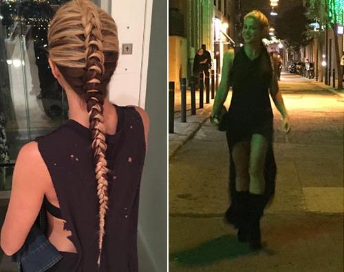 Shakira 1 Treccia bicolor per Shakira