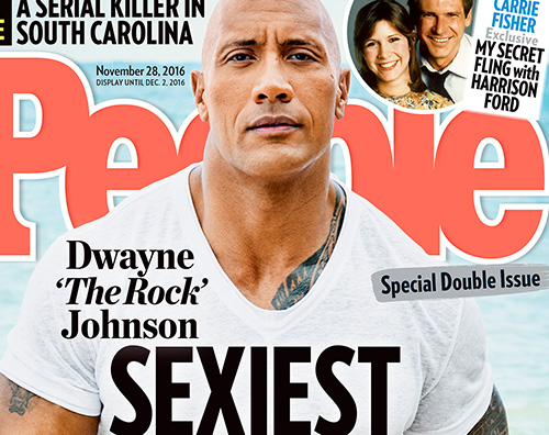 Dwayne Jonson E Dwayne Johnson l uomo più sexy del mondo per People