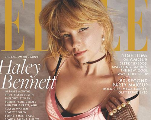 "Haley Bennett 1 Haley Bennett: ""Mi scambiano per Jennifer Lawrence"""