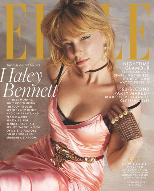 "Haley Bennett 2 Haley Bennett: ""Mi scambiano per Jennifer Lawrence"""