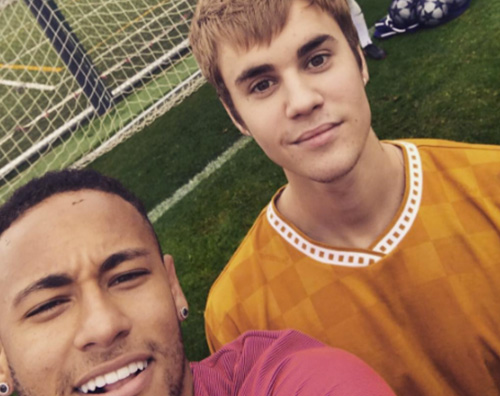 Justin Bieber 1 Justin Bieber si allena col Barcellona