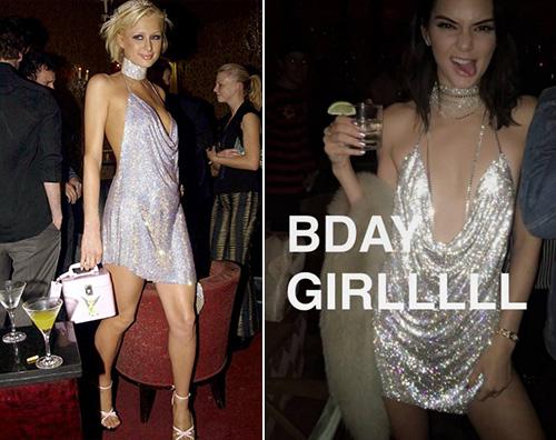 Kendall Paris Kendall come Paris per i suoi 21 anni