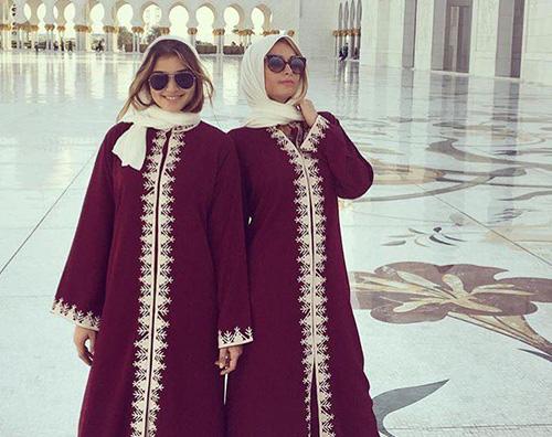 Paris Hilton 2 Paris Hilton ad Abu Dhabi per il GP di Formula1