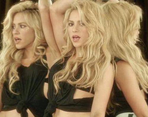 Shakira 2 Shakira e Pique innamorati su Instagram