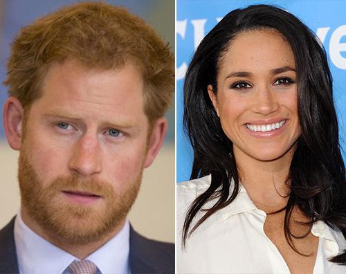 harry meghan Il Principe Harry e Meghan Markle paparazzati a Londra