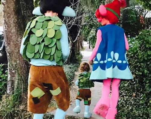 jessica justin Justin e Jessica sono Troll per Halloween