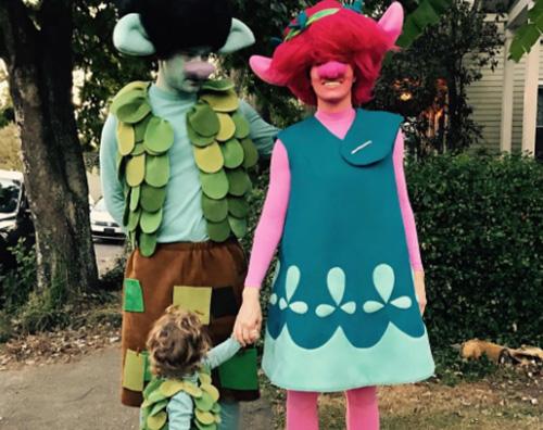 justin jessica Justin e Jessica sono Troll per Halloween