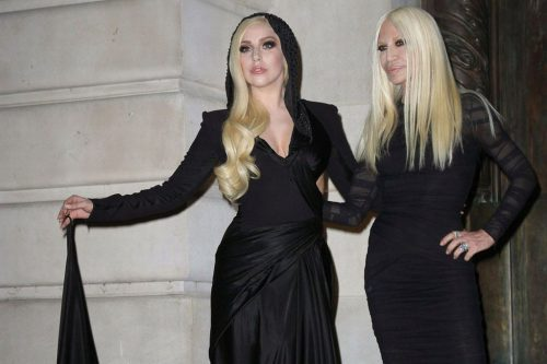 lady gaga and donatella main 500x333 Lady Gaga sarà Donatella Versace in American Crime Story