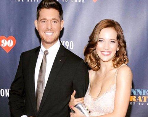 Michael Buble Michael Bublè sarà papà per la terza volta