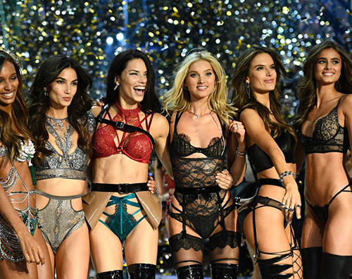 Angeli Cover Gli angeli del Victorias Secret Fashion Show