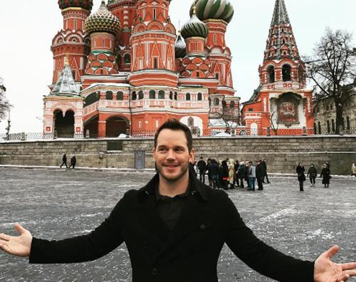 Chris Pratt a Mosca Indovina il piccolo pescatore