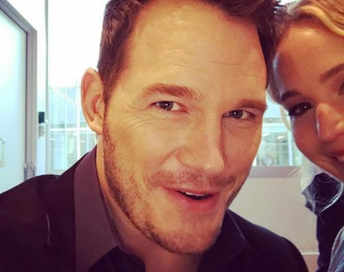 Chris Pratt e Jennifer Lawrence Chris Pratt arriva in Russia per Passengers