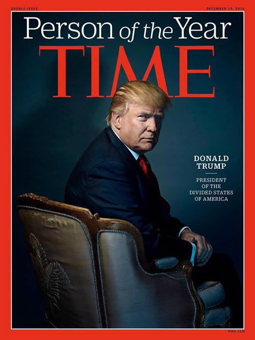 Donald Trump 2 Donald Trump è la persona dell anno sul Time