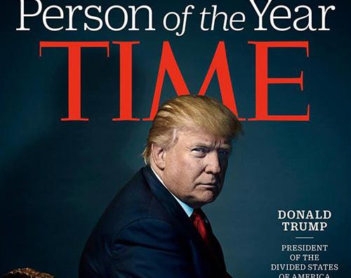 Donald Trump Donald Trump è la persona dell anno sul Time