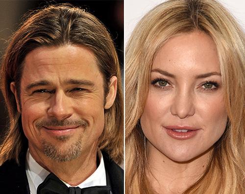 Brad Pitt Kate Hudson Brad Pitt e Kate Hudson sono una coppia?