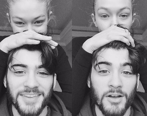 Gigi Hadid Zayn Malik e Gigi Hadid innamorati su Instagram