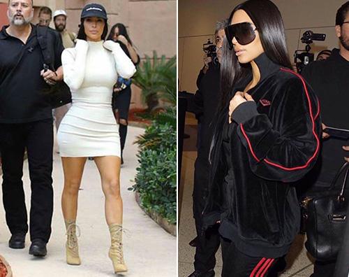 Kim Kardashian Kim Kardashian mostra sui social il suo viaggio a Dubai
