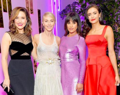 Lea Nina Sophia Julianne Nina, Sophia, Julianne e Lea, quattro bellissime ai Golden Globes 2017