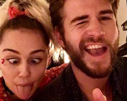 Liam e Miley Miley Cyrus fa gli auguri a Liam per il suo compleanno