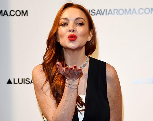 Lindsay Lohan in vacanza alle Maldive
