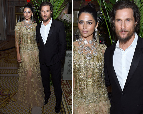 Matthew McConaughey Camila Alve Matthew McConaughey e Camila Alves presentano Gold a NY