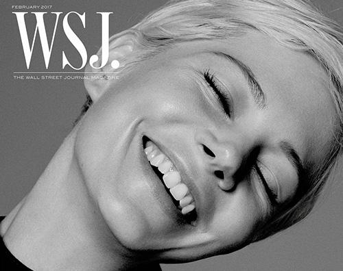 """Michelle Williams 2 1 Michelle William è la star di febbraio su """"WSJ Magazine"""""""