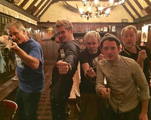 Reunion Il Signore Degli Anelli Reunion per il cast de Il Signore degli Anelli