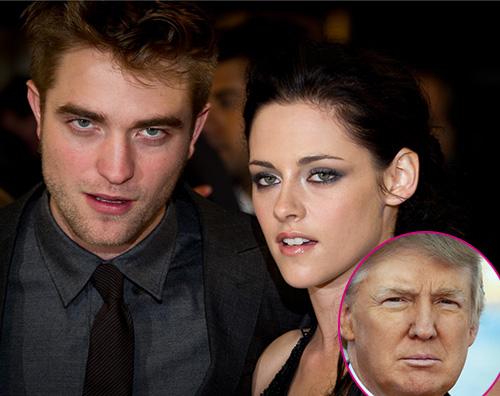 Twilight Kristen Stewart Donald Trump era ossessionato dal mio rapporto con Robert
