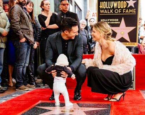 Adam Levine Adam Levine ha la sua stella sulla Walk Of Fame