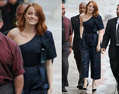Emma Stone Emma Stone, da Jimmy Kimmel dopo l Oscar Nominees Luncheon