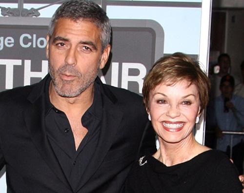 George Clooney Nina Warren mamma La mamma di Clooney rivela il sesso dei gemelli