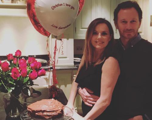 Geri San Valentino in famiglia per Geri Halliwell