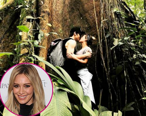 Hilary Duff Hilary Duff bacia Matthew sui social