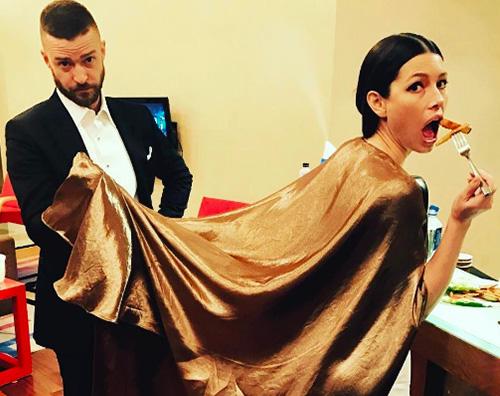 Jessica Biel Justin Timberlake Spuntino post Oscar per Jessica e Justin