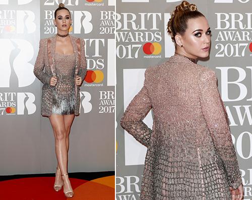 Katy Perry 1 Katy Perry scintillante per i Brit Awards 2017