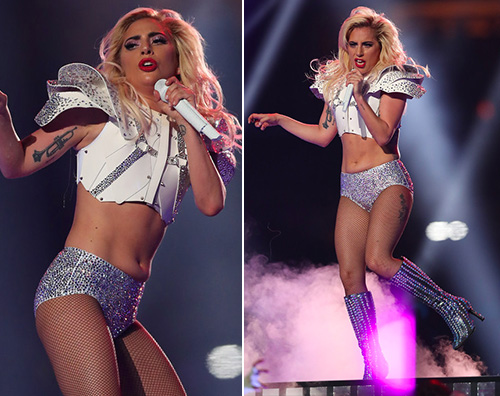 Lady Gaga Lady Gaga reginetta del 51esimo Super Bowl