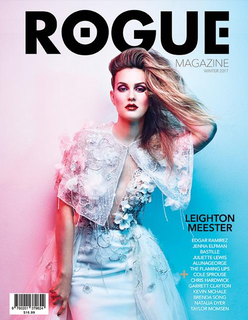 Leighton Meester Leighton Meester sulla cover di Rogue Magazine