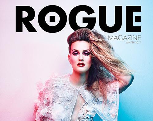 Leighton Leighton Meester sulla cover di Rogue Magazine