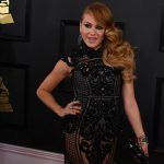 Paulina Rubio 150x150 Grammy Awards 2017, tutti i look sul red carpet