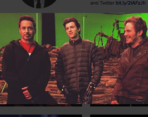 Robert dow Robert Downey Jr, foto dal set di Avengers