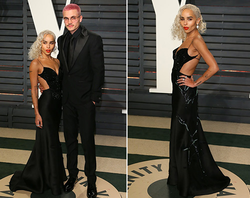 Zoe Kravitz Zoe Kravitz al party di Vanity Fair